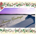 XM655 Christmas Card with border (pack of 5)