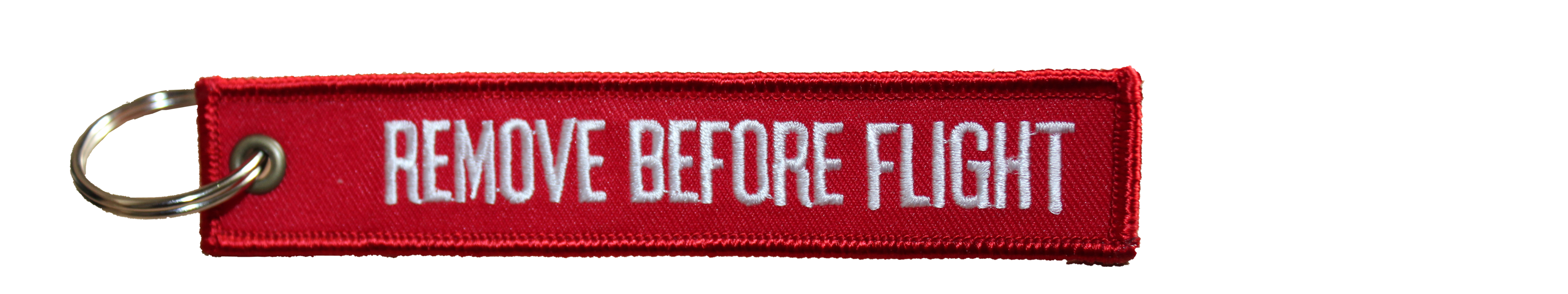 Keyring - Remove before flight