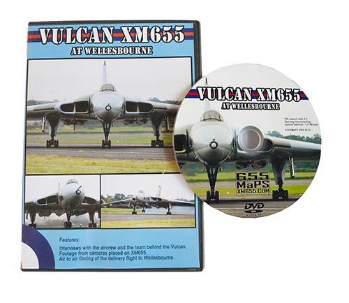 Vulcan XM655 at Wellesbourne DVD