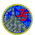 Patch Falklands 35th Anniversary