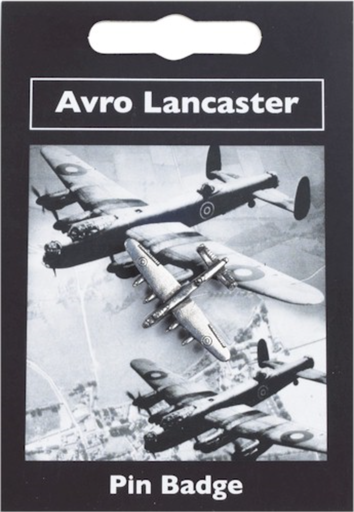 Lancaster Pin (pewter)